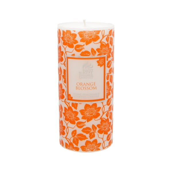 Świeczka zapachowa Pillar 100 godzin palenia, aromat pomarańczy