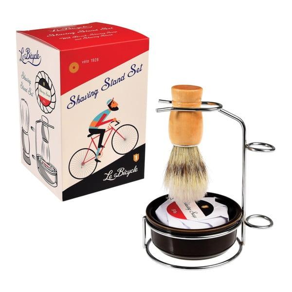 Komplet do golenia ze stojakiem Rex London Le Bicycle