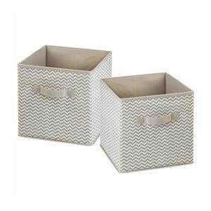Zestaw 2 pudełek InterDesign Axis