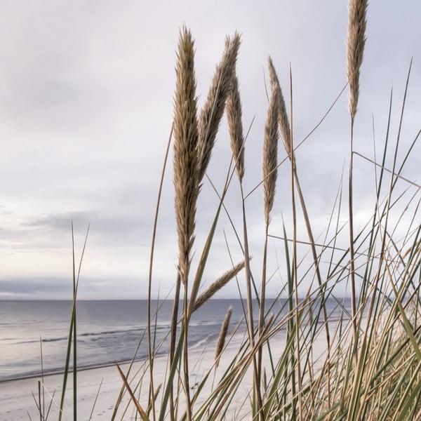 Szklany obraz Seaside View, 20x20 cm