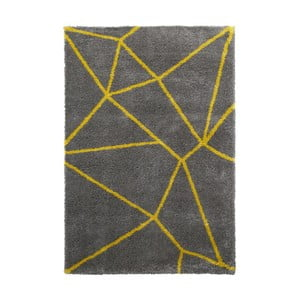 Szaro-żółty dywan Think Rugs Royal Nomadic Grey & Yellow, 120x170 cm
