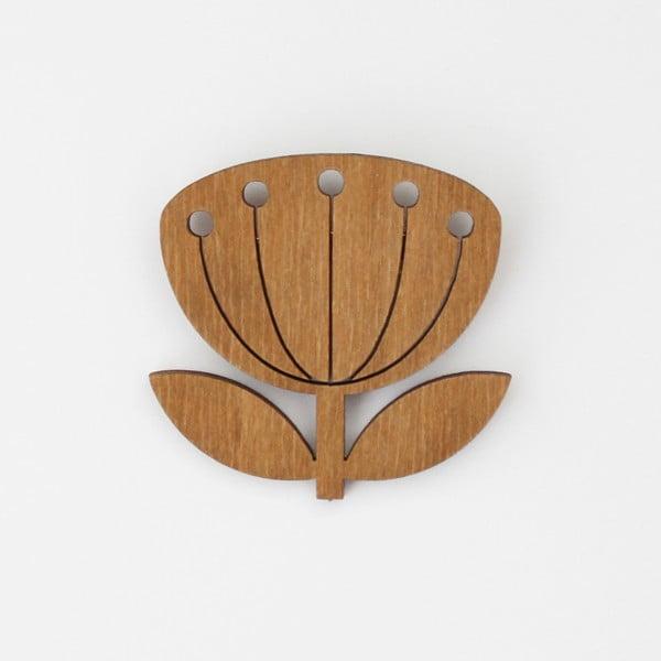 Broszka SNUG.Blowball Oak
