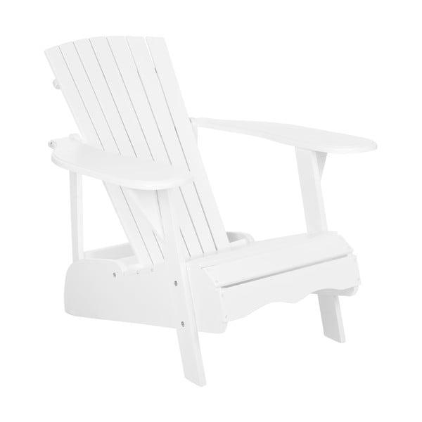 Biały fotel ogrodowy Safavieh Maria
