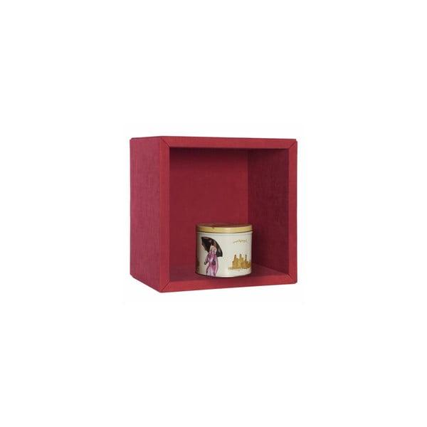 Półka wisząca Silky, czerwona