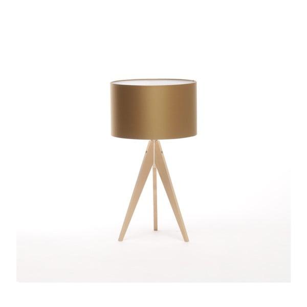 Lampa stołowa w złotym kolorze 4room Artist, Ø 33 cm