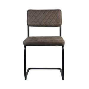 Beżowoszare krzesło LABEL51 Bow
