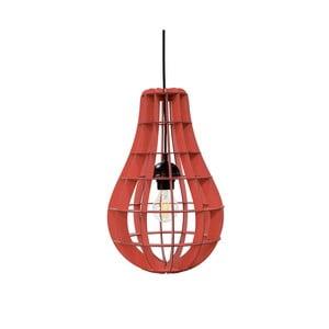 Lampa Bulbo, czerwona