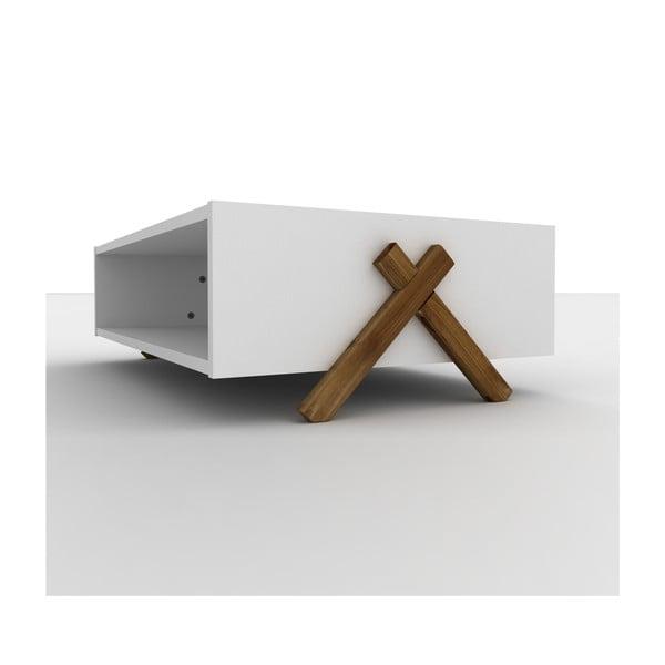 Biały stolik Rafevi Tars