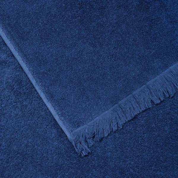 Zestaw 8 niebieskich ręczników bawełnianych i ręczników kąpielowych Casa Di Bassi Bath