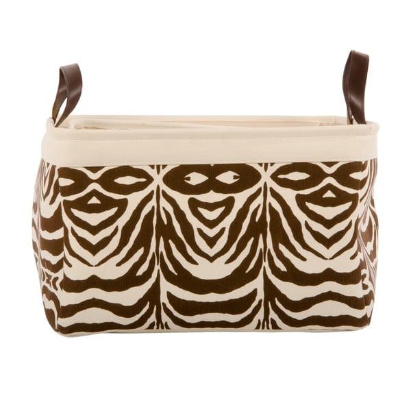 Zestaw 3 koszyków Brown Zebra