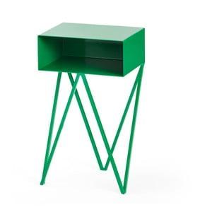 Zielony stolik nocny &New Mini Robot