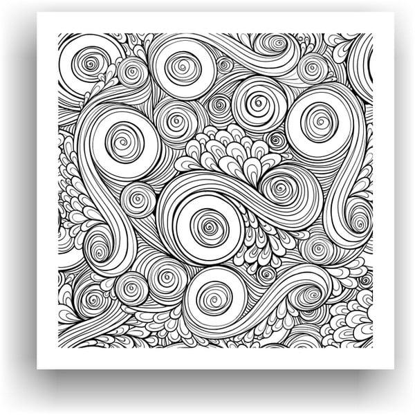 Obraz do kolorowania 51, 50x50 cm