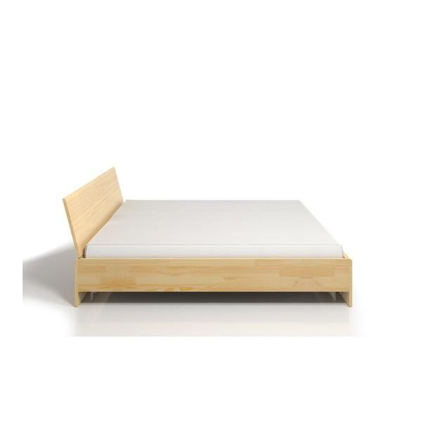 Łóżko dwuosobowe z drewna sosnowego SKANDICA Vestre Maxi, 140x200 cm