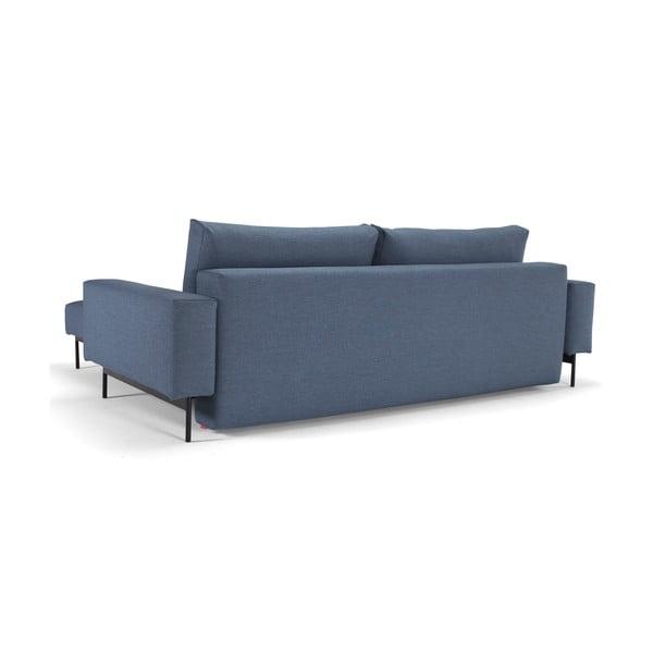Niebieska sofa rozkładana Innovation Bragi