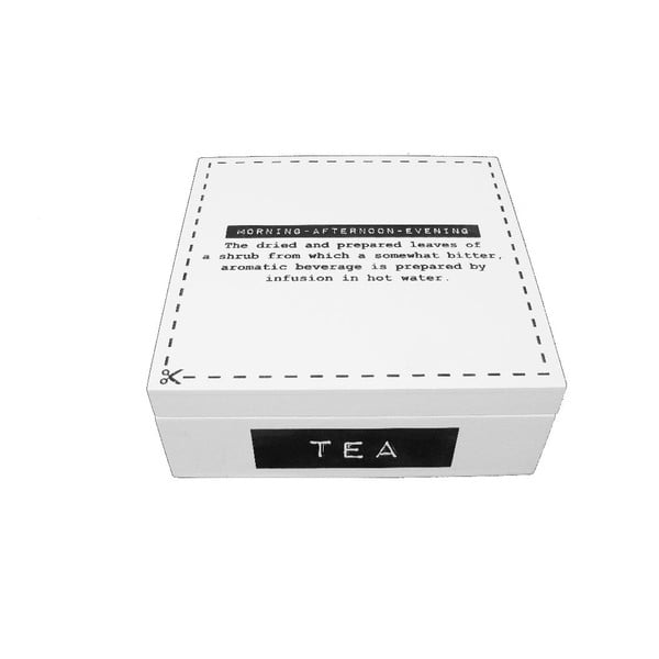 Pojemnik na herbatę Square Label
