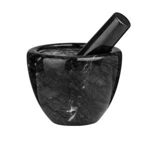 Czarny moździerz marmurowy Premier Housewares Marble