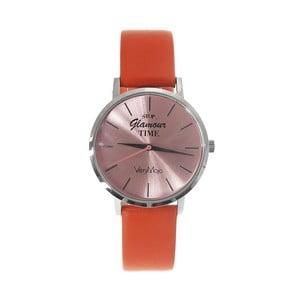 Zegarek VeryMojo Glamour Time, pomarańczowy