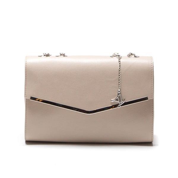 Skórzana torebka Luisa Vanini 420 Fango