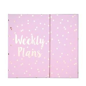 Kieszonkowy kalendarz tygodniowy Tri-CoastalDesign Weekly Plans
