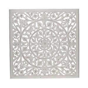 Dekoracja naścienna White Washed, 58x58 cm