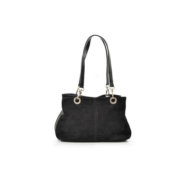 Skórzana torebka Gigi, czarna