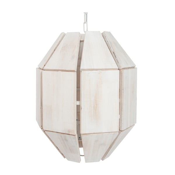 Biała lampa wisząca J-Line Hang