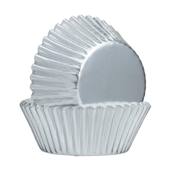 Zestaw 32 szt. papilotek w srebrnym kolorze Mason Cash Baking