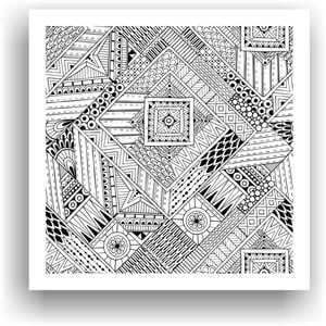 Obraz do kolorowania 66, 50x50 cm