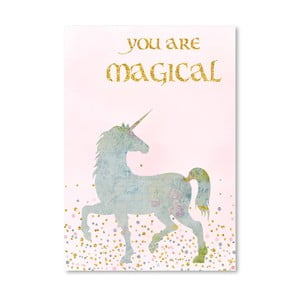 Plakat Americanflat You Are Magical, 30x42 cm