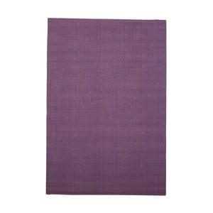 Fioletowy dywan odpowiedni na zewnątrz z juty Native, 240x150 cm