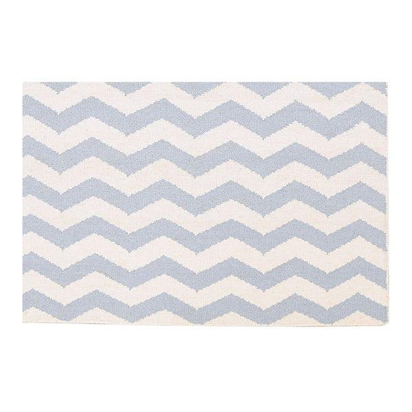 Ręcznie tkany dywan Kilim JP 18 Blue, 120x180 cm