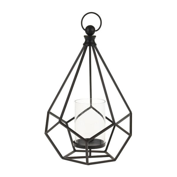 Metalowy lampion Black Cage