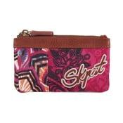 Różnookolorowy portfel SKPA-T, 14 x 7 cm
