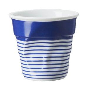 Filiżanka na capuccino Froisses 18 cl, niebiesko-biała