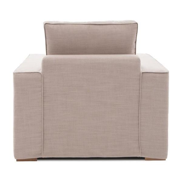 Beżowy fotel Vivonita Jane