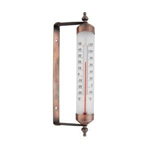 Termometr w brązowej barwie Esschert Design