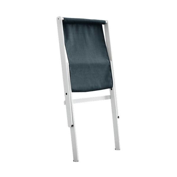 Niebieski fotel rozkładany z drewna bukowego Karup Design Vigilius Petrol Blue, 60x115 cm