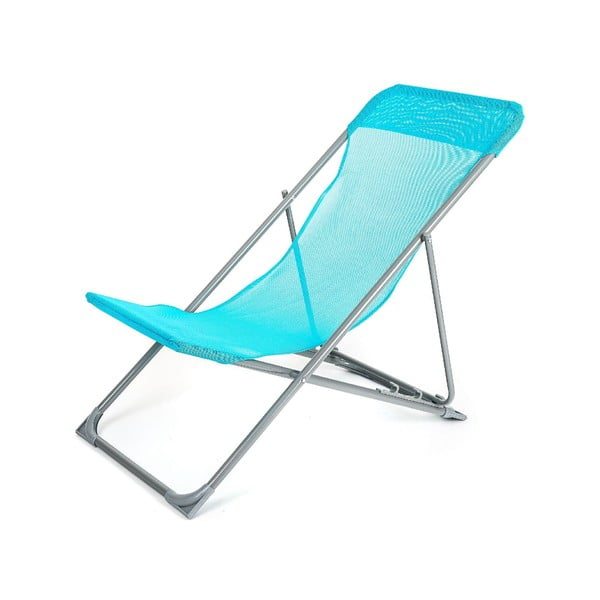 Leżak plażowy Caribic, niebieski