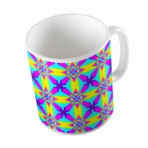 Ceramiczny kubek Neon Kaleidoscop, 330 ml
