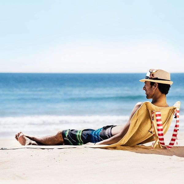 Leżak i ręcznik plażowy w jednym Sun Seat Sand