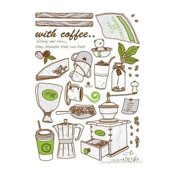 Naklejka Fanastick Coffee Grinder