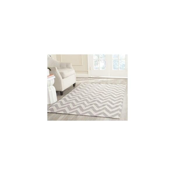 Wełniany dywan Nelli 91x152 cm, szary