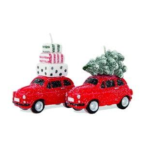 Zestaw 2 świeczek Tree on Car