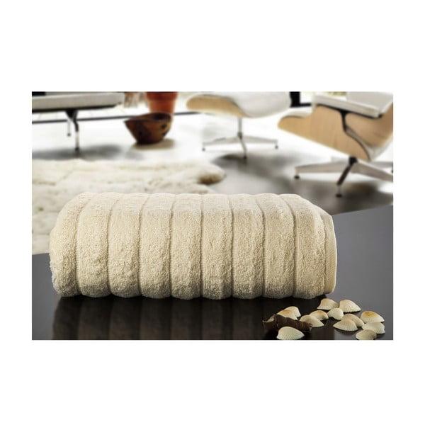 Ręcznik Dalga Cream, 100x150 cm