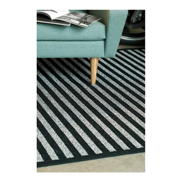 Czarno-biały dywan dwustronny Narma Viki, 70x140 cm