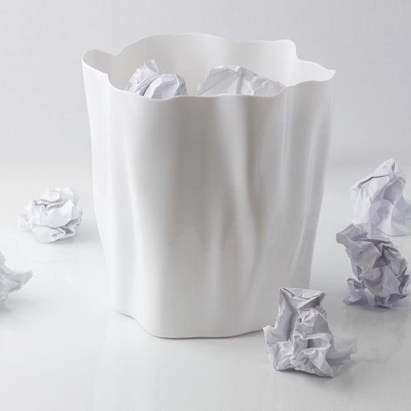 Kosz na śmieci QUALY Flow Bin, biały