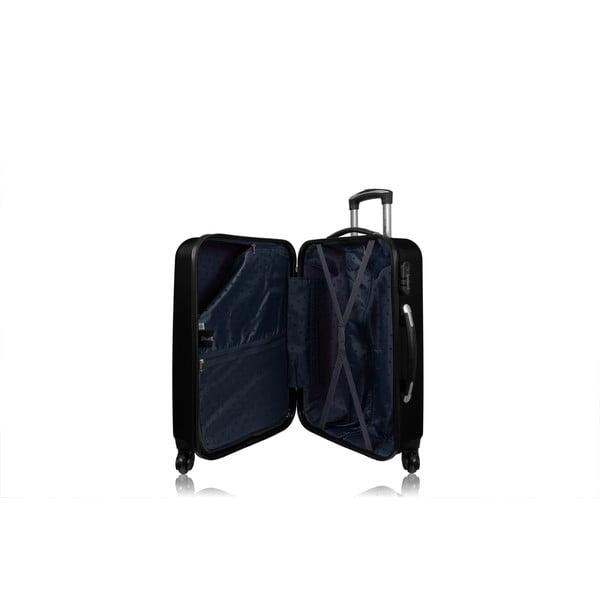 Zestaw 3 walizek Roues Cadenas Dark, 105 l/72 l/40 l