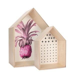 Zestaw 2 półek HF Living Pineapple