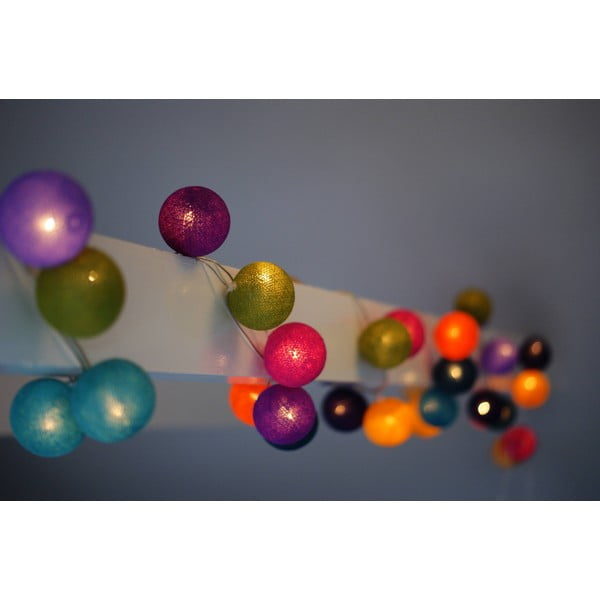 Girlanda świetlna Rainbow Drops, 35 światełek