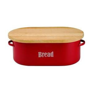 Czerwony   pojemnik na chleb Typhoon Vintage